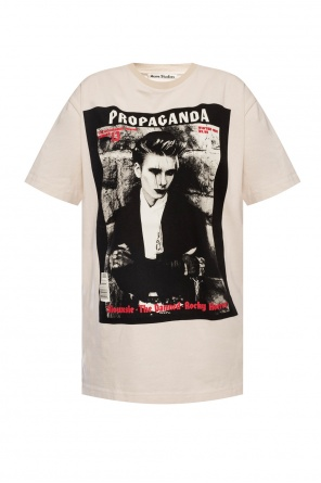 Printed t-shirt od Acne